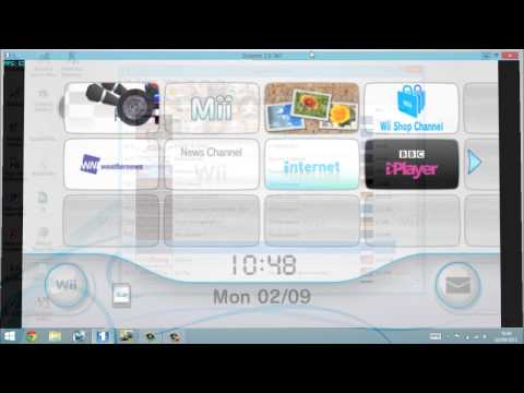 Dolphin Emulator - How To Install Wii Menu + Channels