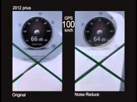 2013 prius NVH test @ 100km/h