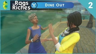 The Sims 4 Dine Out  Rags To Riches  Part 2