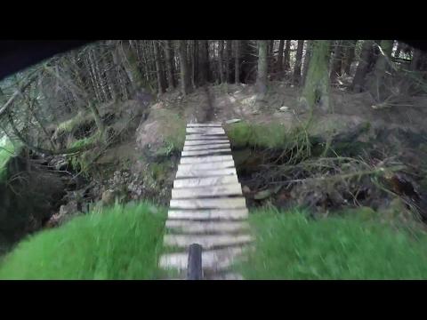 Dunoon - mtb - Scotland - Gopro raw edit