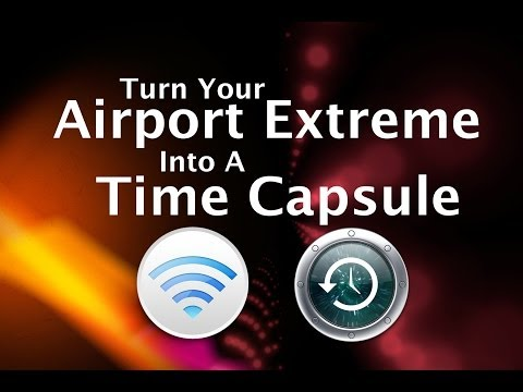 Turn An Airport Extreme Into A Time Capsule [HOW TO]
