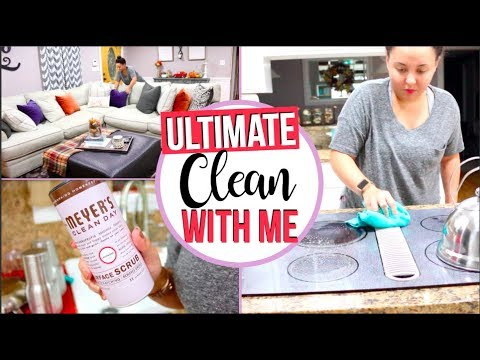 ULTIMATE CLEAN WITH ME AFTER DARK | SPEED CLEANING MOTIVATION 2017 | Page Danielle