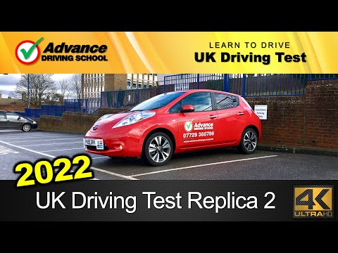 New 2018 UK Driving Test Replica 2 (full route without Sat-Nav / automatic car)
