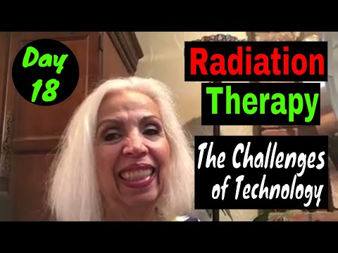 Radiation Therapy - Day 18 - Seven More To Go