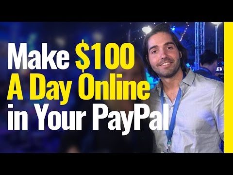 How to Make $100 PER DAY Online in your PayPal Account