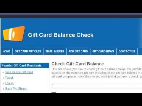 How To Check The Balance On A Mastercard Giftcard