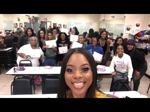 Vlog: I Had A Makeup Class! Recap | Jamiiiiiiiie
