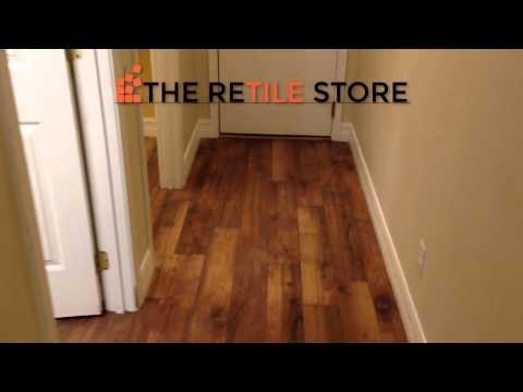 ReTile: Wood Look Porcelain Tile Installation 6x36
