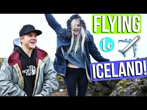 FLYING TO REYKJAVIK ICELAND!