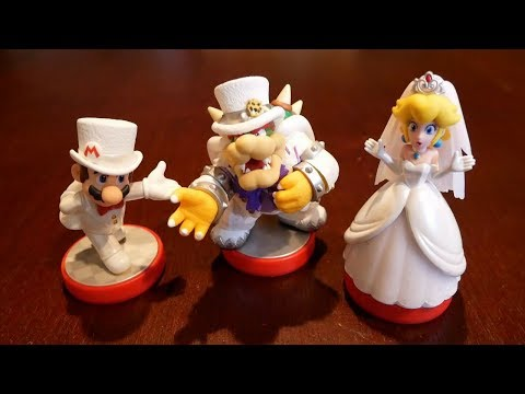 Super Mario Odyssey Amiibo - Are They Worth it?? (Mario, Peach, Bowser)