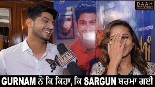 Sargun Mehta Gurnam Bhullar de jawaab ton Sharma Gayi! | Surkhi Bindi | Interview | DAAH Films