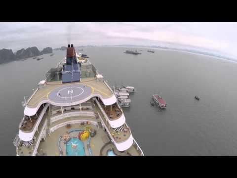 Superstar Virgo's 3-night destination cruise,Hong Kong-Halong Bay-Sanya