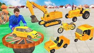 जादुई पहिया सुनहरा वाहनों Magical Wheel Golden Vehicles Comedy Video हिंदी कहानियां Hindi Kahaniya