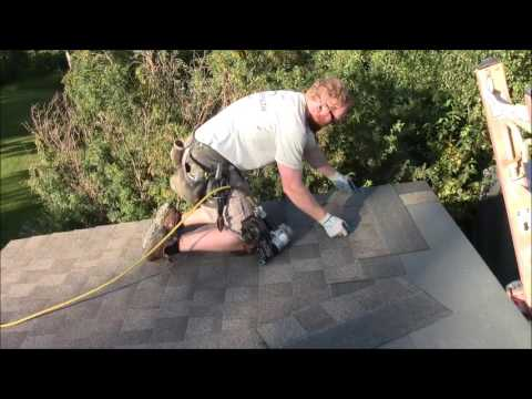 How To Shingle a Shed Roof on a Tiny House
