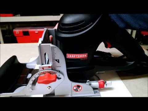 Craftsman Biscuit Jointer Tips