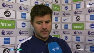 """Pochettino: """"Win was a relief but the goal we conceded was embarrassing."""" 