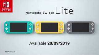 CSP Game Review/ Preview - Nintendo Switch Lite Announcement