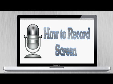 How to Record Computer Screen for Free (MacBook)