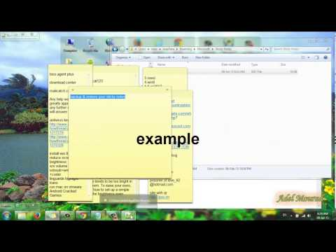 How to Backup and Restore sticky notes