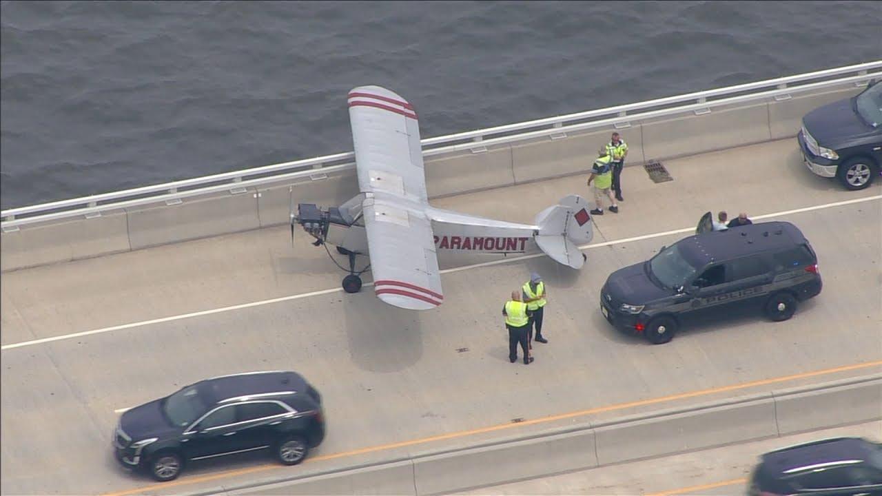 Teen pilot makes emergency landing on Jersey Shore bridge
