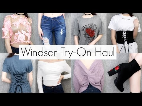 Windsor Spring Try-On Haul: Tops, Jeans, Skirts, Bags & More! || BeautyChickee