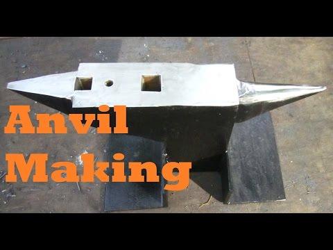BLACKSMITHING Making an Anvil 2.0