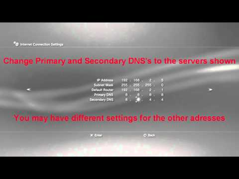 PS3 TUTORIAL - Better Internet Connection Settings. NO LAG! Perfect for CoD