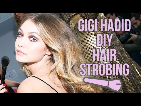 GIGI HADID Inspired DIY Hair Strobing: How To Make You Hair Look Lighter