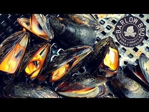 How to Grill Mussels In the Shell on Gas or Charcoal Grill | Easy Grilled Mussels | Barlow BBQ