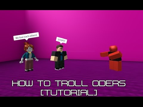 ROBLOX Trolling | How to kill oders on Boys And Girls hangout without exploits! [TUTORIAL] [PATCHED]