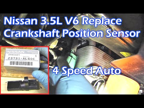 Replace Nissan 3.5L V6 Crankshaft Position Sensor