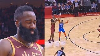 James Harden Chokes With Worst Shot & Paul George Destroys Entire Rockets! Thunder vs Rockets