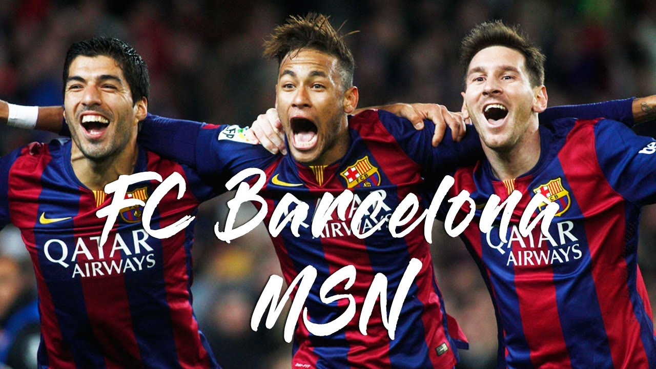 【MSN】バルセロナ史上最強の3トップ メッシ・スアレス・ネイマール 【圧倒的破壊力】(FC Barcelona)