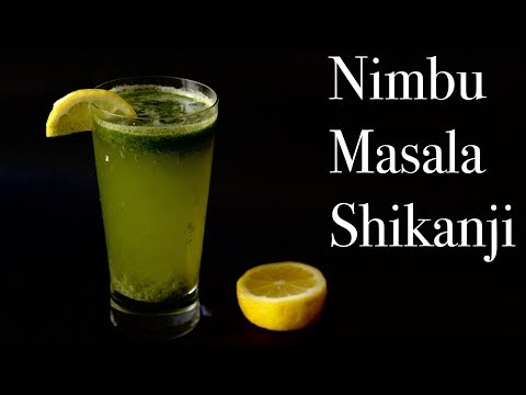 Nimbu Masala Shikanji Recipe in Hindi