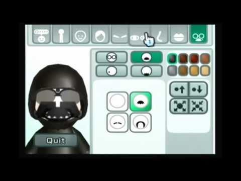 Mii Tutorial - How To Make A Darth Vader Mii