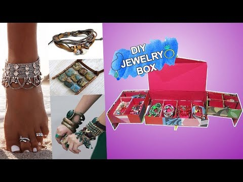 2 Stunning Cardboard Organizer To Store Your Jewelries