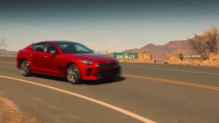 2018 Kia Stinger GT | Edmunds x Stinger Road Trip – The Perfect Stretch of Road