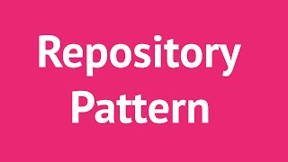 Repository Pattern with C# and Entity Framework, Done Right | Mosh