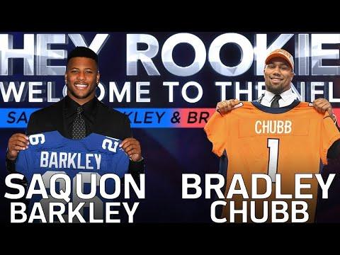 Saquon Barkley & Bradley Chubb's Journey from Combine Prep to the 2018 NFL Draft | Hey Rookie | NFLN