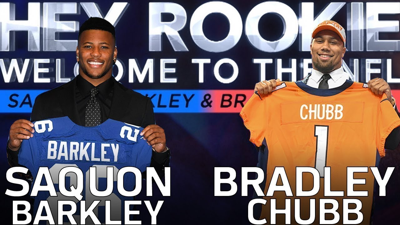 Saquon Barkley & Bradley Chubb's Journey from the Combine to the 2018 NFL Draft | Hey Rookie