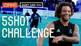 5 Shot Challenge With Marcelo! ft. Poet and Vuj