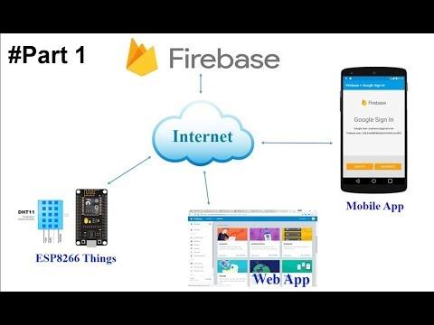 Connecting Arduino Node-MCU with Google Firebase Using Arduino IDE #C #Firebase