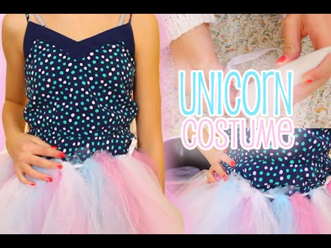 Diy Unicorn Halloween Tutorial - Easy Costume