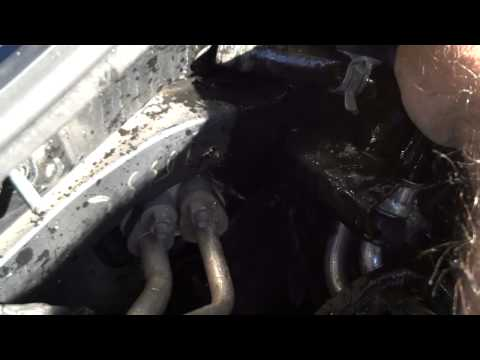 2003 Jeep Liberty 3.7L Flushing the Heater Core