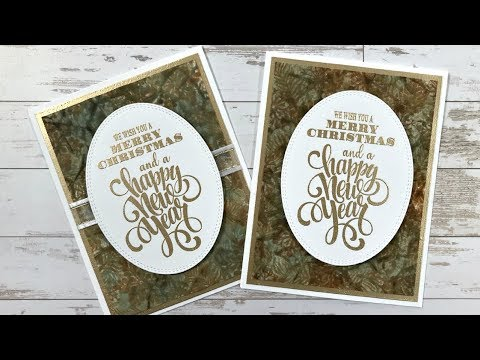 Merry and Bright Rustic Holiday Card