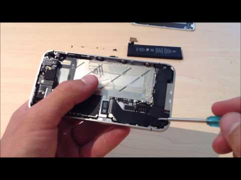 iPhone 4s screen Removal/Replacement