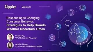 Webinar: Responding to Changing Consumer Behavior  Strategies to Help Brands Weather Uncertain Times