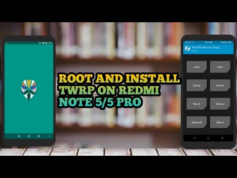 How to install twrp recovery and Root Redmi Note 5/5 Pro  without  disabling OTA! DETAILED GUIDE