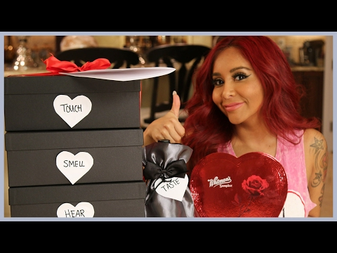 Snooki's Valentine's Day Gift Boxes for Jionni