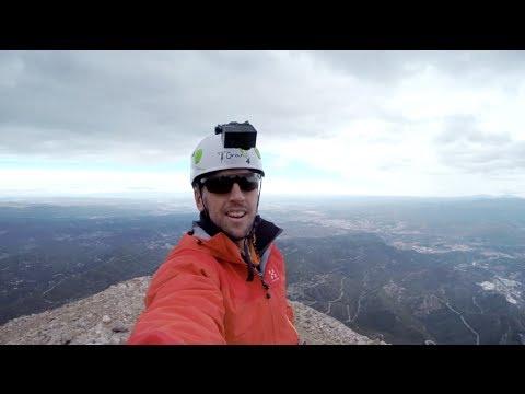 SEAT - Climbing the Montserrat mountain via ferrata